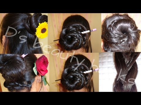 Easy Hairstyles For Long Hair New Hairstyle With Bunstick