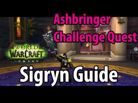 how to start mage tower challenge