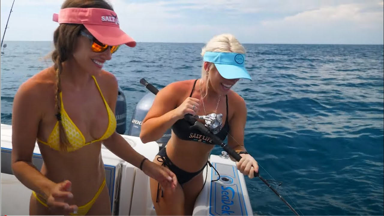 GIRLS TRIP-Summertime Grouper & Snapper| Part 2