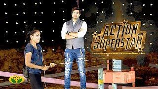 Gambar cover தங்களது வலிமையை நிரூபித்த கன்டெஸ்டண்ட்ஸ் | Action Super Star | Ganesh Venkatram | Jaya TV