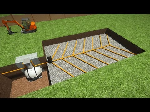 Septic Tank Installation How To Install Septic System Youtube
