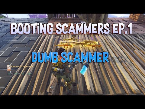 Dumb Scammer Gets Scammed And Booted Offline! Booting Scammers Ep 1 (GIVEAWAY ENDING)