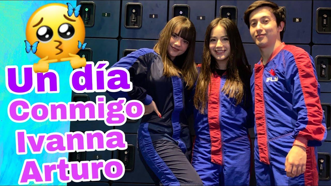 Un día conmigo con Ivanna y Arturo ✨💛//Indoor Skydiving, una experiencia irreal!🤩
