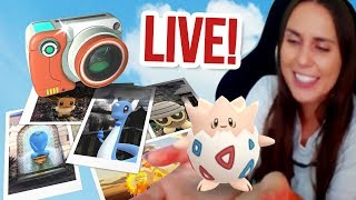 GO SNAPSHOT IS HERE | Reviewing YOUR AR Photos! Pokémon Let's Go