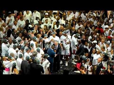 6/21/12 NBA Finals Miami Heat - Larry O