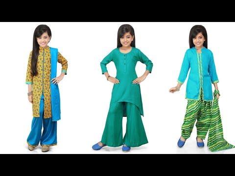 Kid's Traditional Salwar Kameez Designs