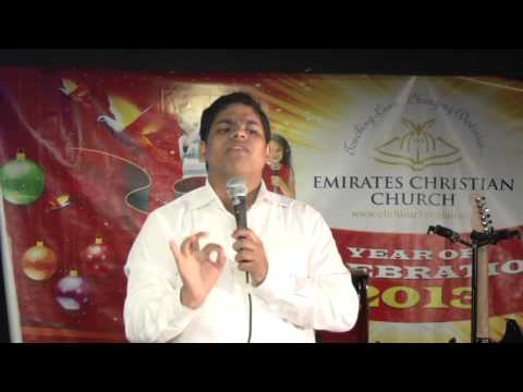 Jojimon Jose in Dubai emirates church