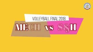 Volleyball Final Match -  Inter department ( Full match Highlights )