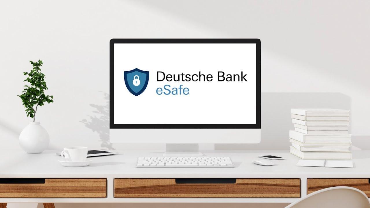 Deutsche Bank Esafe So Einfach Sichern Sie Ihre Unterlagen Und Passworter Youtube