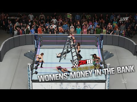 WWE 2K18 PRE-RELEASE | 8 WOMAN MONEY IN THE BANK!