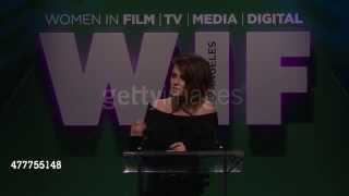 Kristen Stewart with Stephanie Meyer at Women In Film 2015