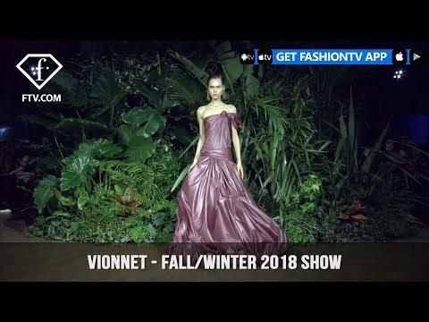 Vionnet Casa Atellani Hosts Fall/Winter 2018 Milan Fashion Week Show | FashionTV | FTV