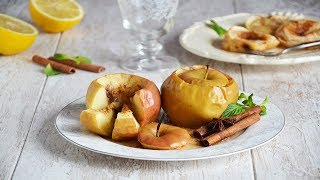 Запеченные яблоки с корицей в духовке 🍏 яблочные десерты #1000menu