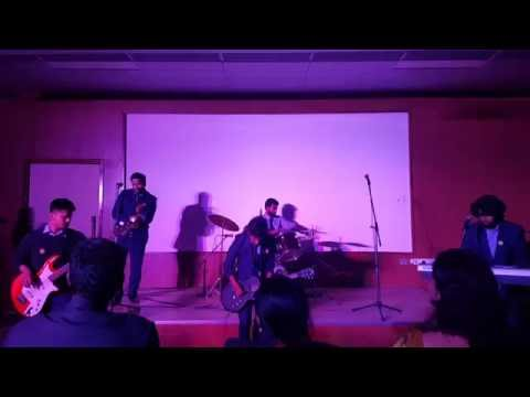 Prayas performing  live at College of Legal Studies