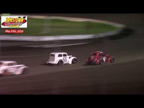 Jamestown Speedway INEX Legend A-Main (5/25/19)