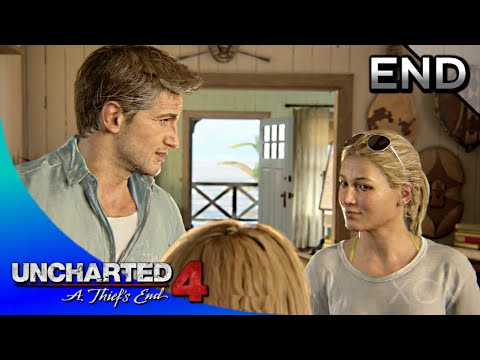 UNCHARTED 4: A Thief's End Walkthrough Part 23 · Epilogue (100% Collectibles) | ENDING
