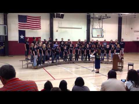 Brownwood middle school choir