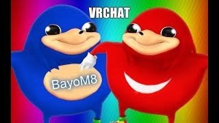 Ugandan Knuckles wrote me a song? - VRChat funny moments