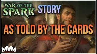 MTG War of The Spark Story as Told by the Cards - MTG WAR Art Review