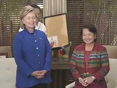 Conferment of the Order of Sikatuna on Hon  Hillary Rodham Clinton, Secretary of State of the USA