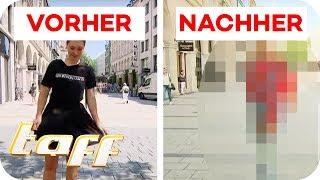 UMSTYLING Extrem: SO KRASS ist der VORHER - NACHHER Vergleich! | taff | ProSieben