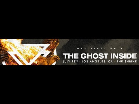 The Ghost Inside return..! announced their 1st live show in over 3 years..!