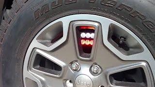 Jeep Wrangler JKU POV Emergency lights | Aj Phillips