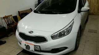 Скрутить пробег Kia Ceed 2013г. Ремонт ABS.
