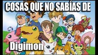 20 Cosas que no sabías de Digimon