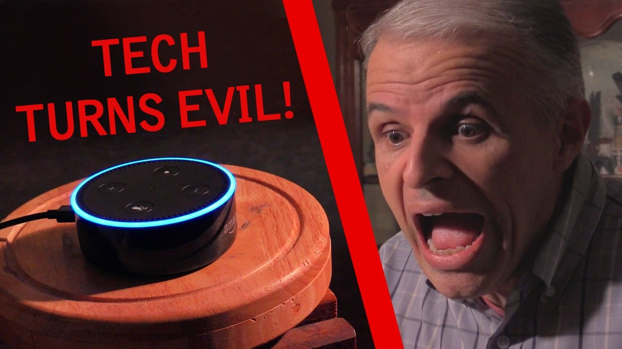 Amazon Echo Dot Alexa Turns Evil AI Becomes Sentient