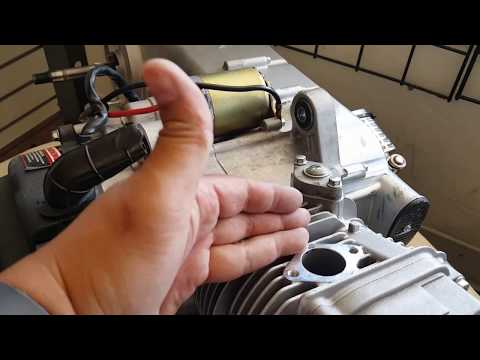 How to install 171cc Big Bore Kit on GY6 157QMJ Chinese Scooter Part #1