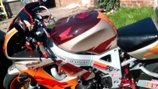 Cbr900rr fireblade urban tigre turbo finally finished 🙌
