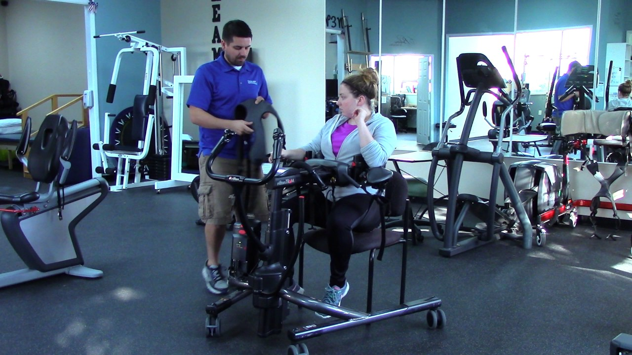 Rifton TRAM Training - The hoyer lift, gait trainer, and stander all-in-one!