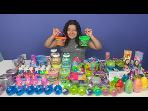 MIXING ALL MY STORE BOUGHT SLIMES - NEW FLUFFY UNICORN NARWHAL SLIMES - GIANT SLIME SMOOTHIE
