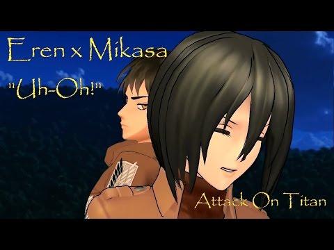 Eren X Mikasa Tumblr Attack On Titan Anime Attack On Titan