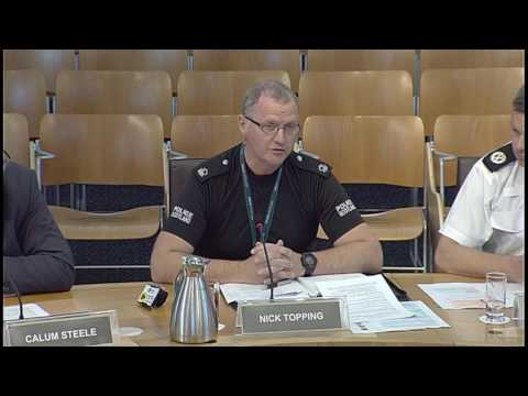 Justice Sub-Committee on Policing - Scottish Parliament: 15 June 2017