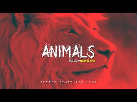 AGRESSIVE TRAP BEAT 2017 EMTEE FT A.K.A - ANIMALS     (PROD BY INFLUENTIAL BEATS)