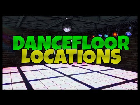 Fortnite: Dance Floor / Disco Locations
