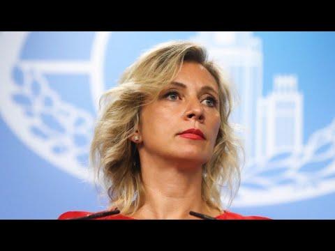 Еженедельный брифинг Марии Захаровой от 02.04.2020. Полное видео