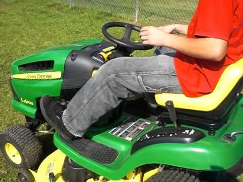 John Deere La 105 Lawn Tractor | Zef Jam