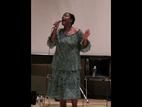 "Kecia Lewis-Evans Singing ""Mama Will Provide"""