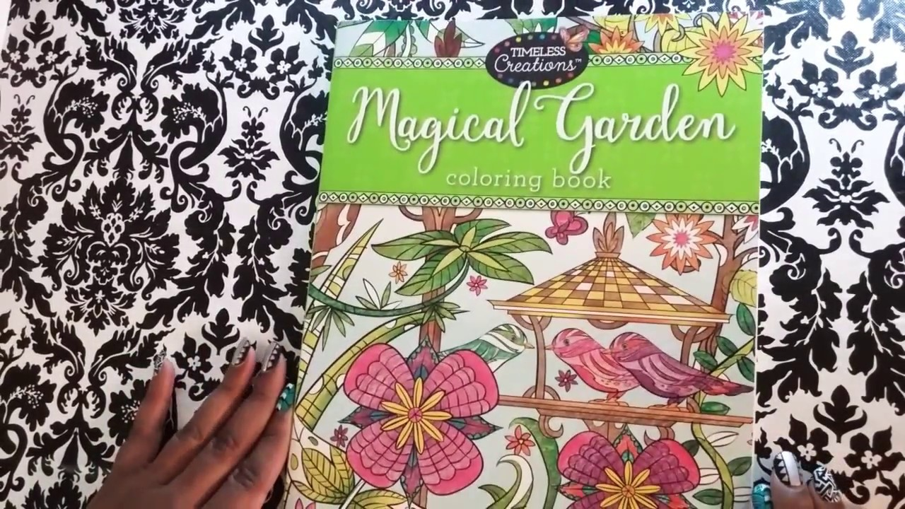Magical Garden By Timeless Creations Flip Through Youtube