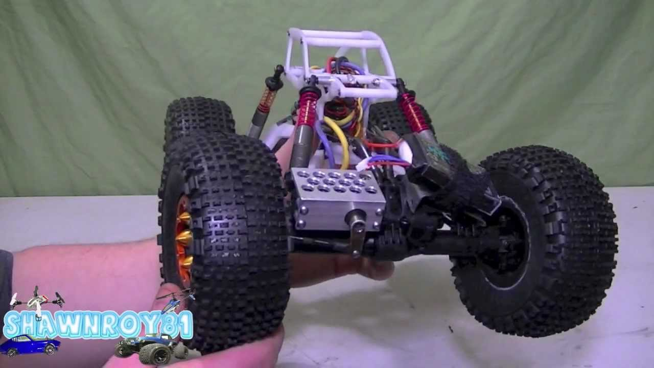 Shaved foam tires rc