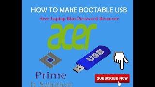 Acer E1 510 Bios Password Reset