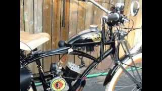 Three Custom Motorized Bicycles , Two Have Shift Kit
