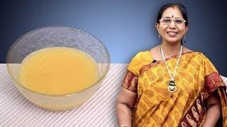 Dhal Soup | Mallika Badrinath Indian Recipes | Baby Food
