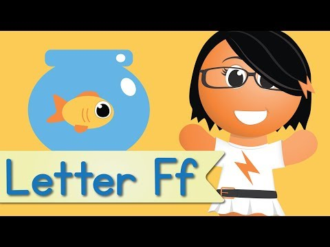 Letter F Song (Animated)