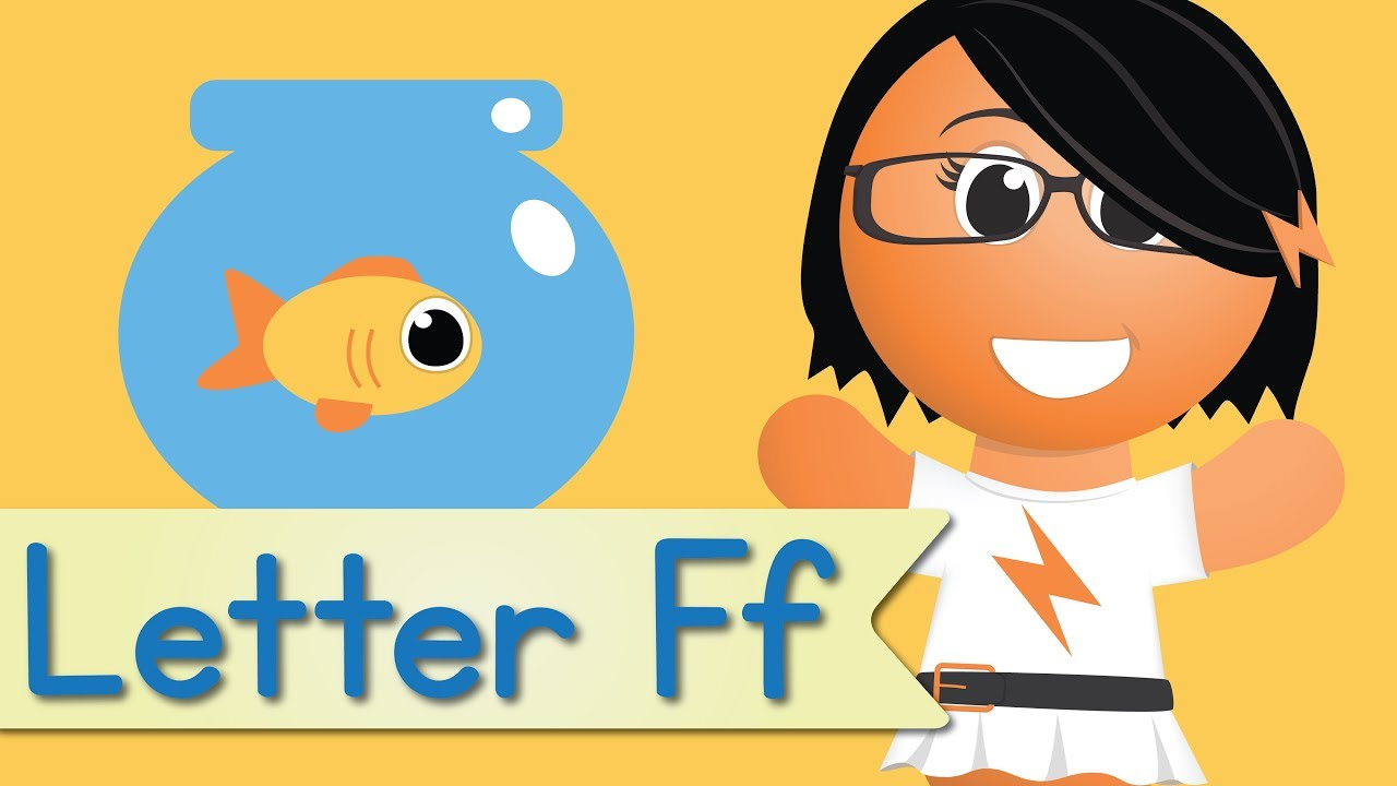 Letter F Song (Animated)   YouTube