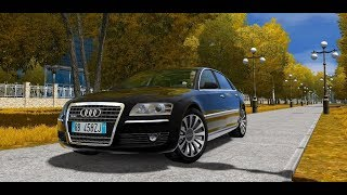 City Car Driving 1.5.5 - AUDI A8 D3 6.0 W12   + Download [ LINK ]   1080p & G27