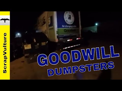 $150 MILLION of SCRAP METAL in GOODWILL STORE Dumpsters EVERY YEAR?? Is That Possible?